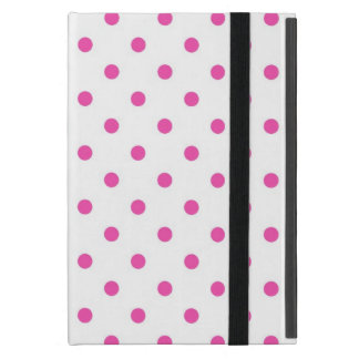 Cute and sweet pink polka dots cases for iPad mini