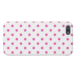 Cute and sweet pink polka dots cases for iPhone 5