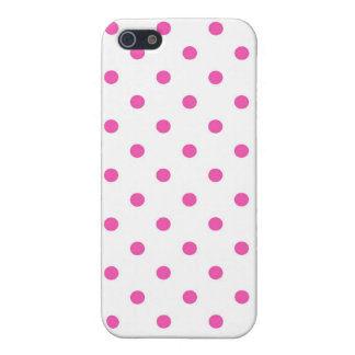 Cute and sweet pink polka dots covers for iPhone 5