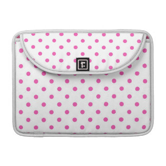 Cute and sweet pink polka dots sleeves for MacBooks