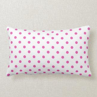 Cute and sweet pink polka dots pillows