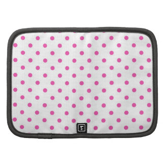 Cute and sweet pink polka dots planner