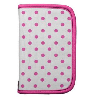 Cute and sweet pink polka dots organizer