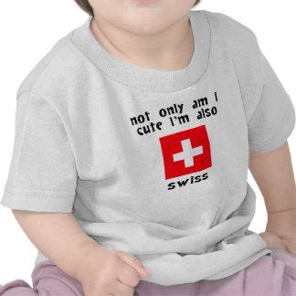 Cute And Swiss T Shirt
