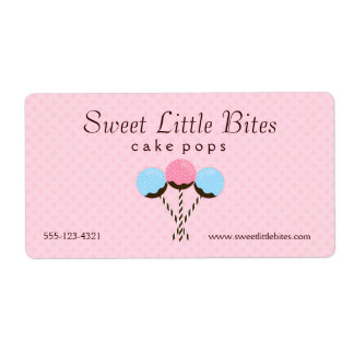 Cute and Trendy Cake Pop Labels
