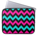 Cute and trendy chevron pattern laptop computer sleeves