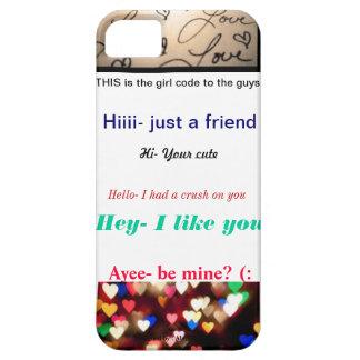 cute and true iPhone 5 case