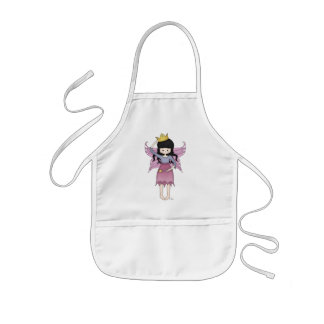 Cute and Whimsical Little Fairy Princess Girl Kids' Apron