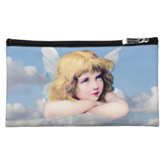 Cute Angel In The Clouds Cosmetic Bag