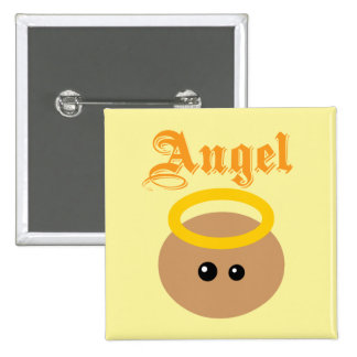 Cute Angel Pinback Button