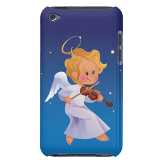 Cute angel playing violin iPod touch Case-Mate case