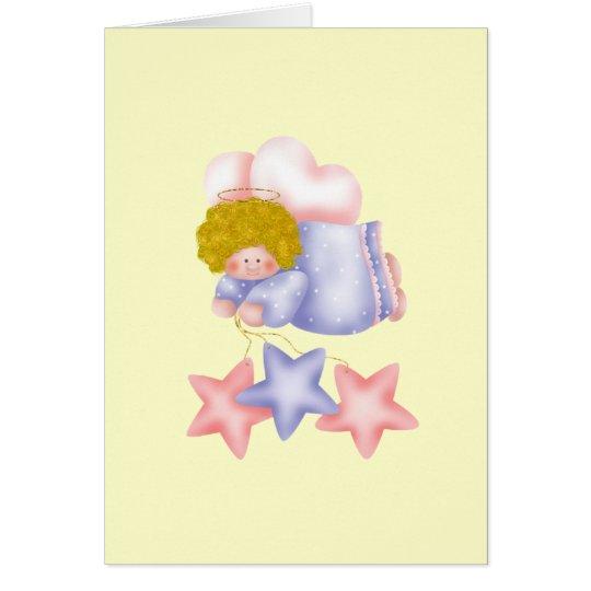 Cute Angel Star 1 Card