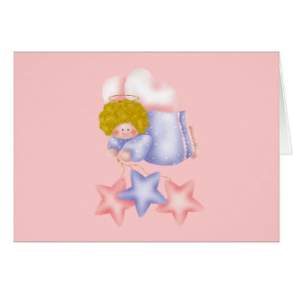Cute Angel Star 1 Card
