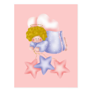 Cute Angel Star 1 Postcard