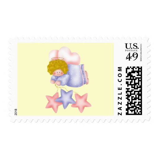 Cute Angel Star 1 Stamps