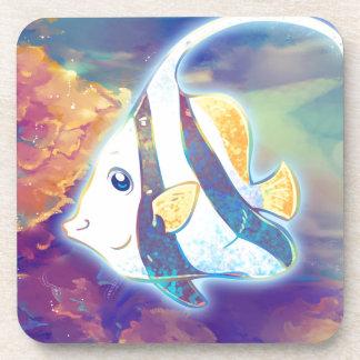 Cute Angelfish Coaster