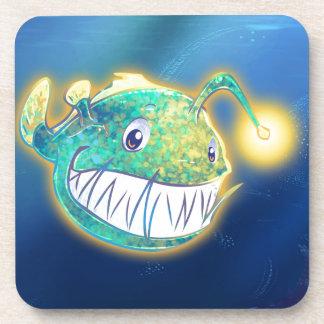 Cute Angler Fish Coaster