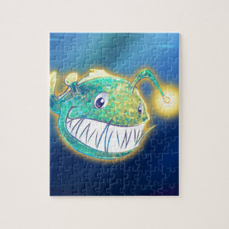 Cute Angler Fish Jigsaw Puzzle
