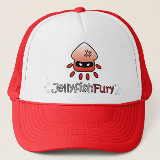 Cute Angry Jellyfish Trucker Hat