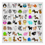 Cute Animal Lover Print