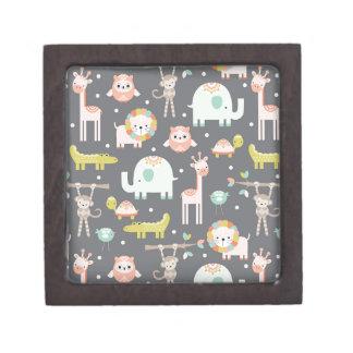 Cute Animal Party Keepsake Box