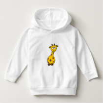 Cute Animal Yellow Giraffe - Hoodie Sweater