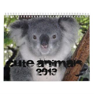 CUTE ANIMALS 2013 CALENDAR