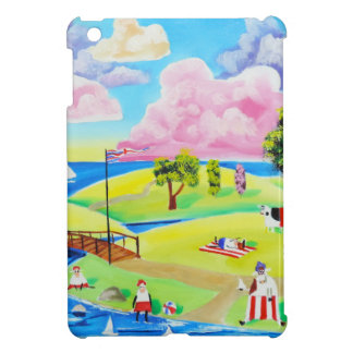 Cute animals at the seaside by Gordon Bruce iPad Mini Cases