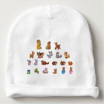 Cute Animals Baby Cotton Beanie