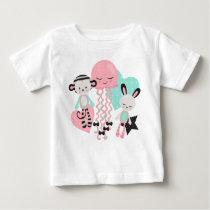 Cute animals baby Design Baby T-Shirt