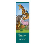 Cute Animals bookmark for young books lovers! Double-Sided Mini Business Cards (Pack Of 20)