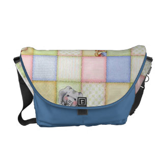 cute animals courier bag