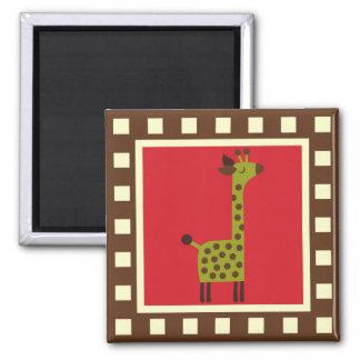Cute Animals Giraffe Magnet