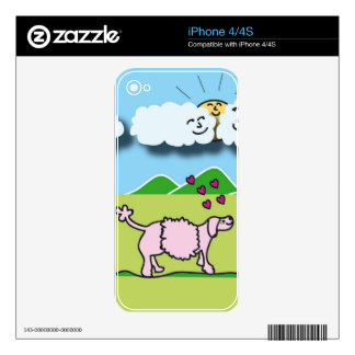 Cute Animals iPhone 4S Skins