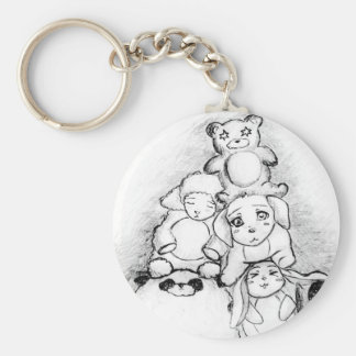Cute Animals Keychain