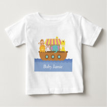 Cute Animals, Noah's Ark, for babies Baby T-Shirt
