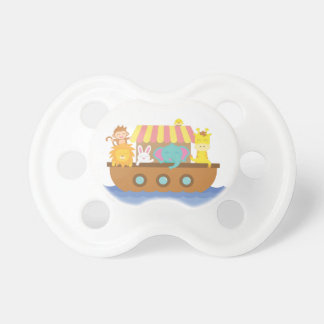 Cute Animals, Noah's Ark, for babies Pacifier