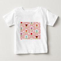 Cute Animals Pattern Baby T-Shirt