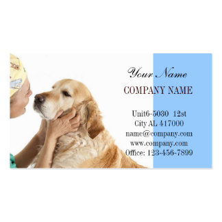cute animals pet service Veterinarian Double-Sided Standard Business Cards (Pack Of 100)