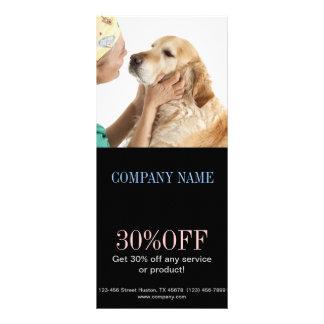 cute animals pet service Veterinarian Rack Cards