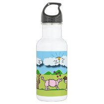 Cute Animals Water Bottle