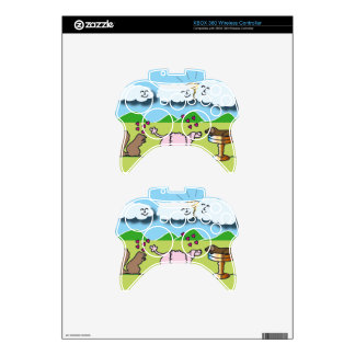Cute Animals Xbox 360 Controller Skins