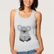 Cute animated Koala Bear tank top