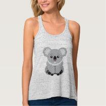 Cute animated Koala Bear tank top
