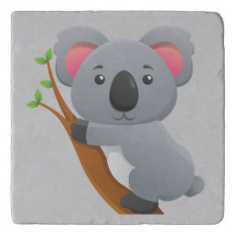 Cute Animated Koala Bear Trivet