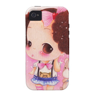 Cute anime baby Case-Mate iPhone 4 covers
