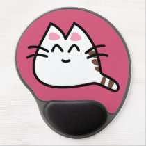 Cute Anime Cat Gel Mouse Pad
