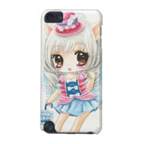 Cute anime cat girl iPod touch (5th generation) cover