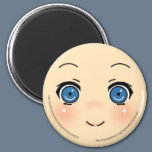 Cute Anime Face Magnet
