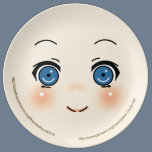 Cute Anime Face Plate
